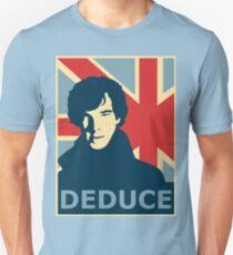 Sherlock Holmes Poster T-Shirt