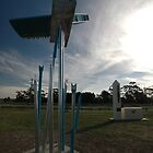 First Flight Sculptures, Diggers Rest, Victoria, Australia 2010 by muz2142