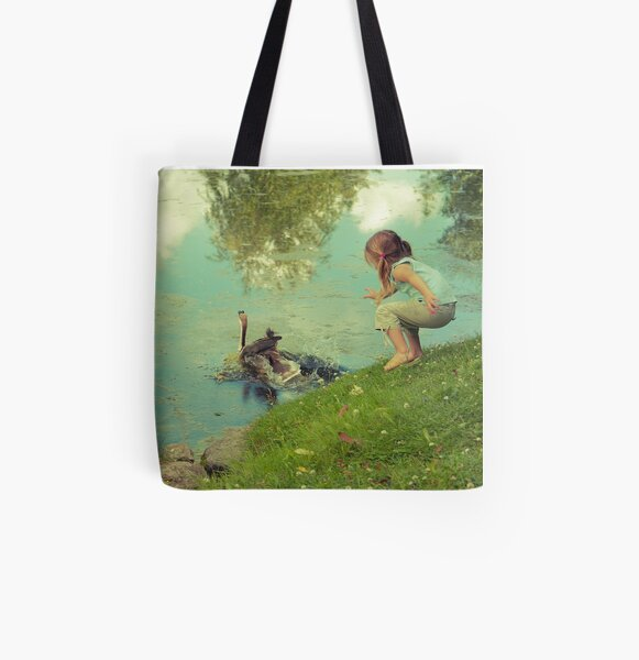 the end of the story All Over Print Tote Bag