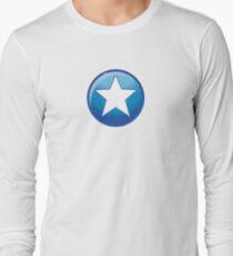 Hero halftone Long Sleeve T-Shirt