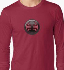Villain halftone 2 Long Sleeve T-Shirt
