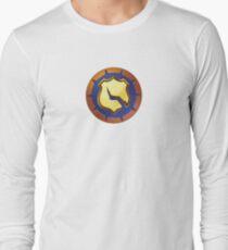 Vigilante halftone Long Sleeve T-Shirt