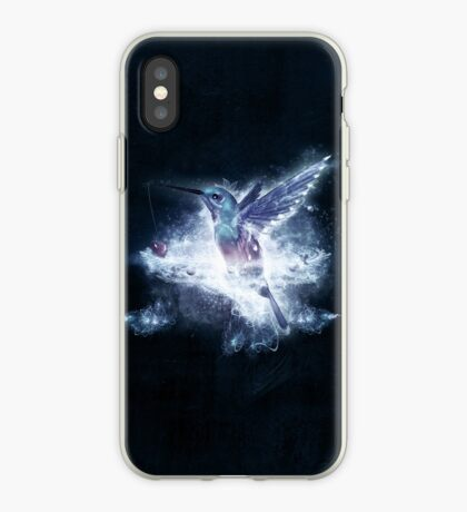 Hummingbird Love iPhone Case
