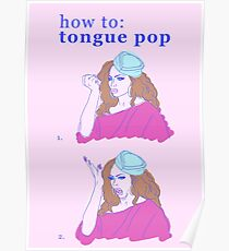 How to Tongue Pop #1 Poster