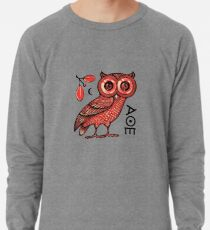 Athens Eule Leichter Pullover