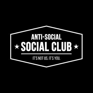 Anti-Social Social Club by RandomCotton