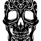 Tribal Skull by TurkeysDesign