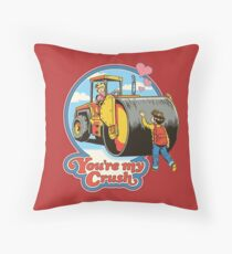 You're My Crush Throw Pillow