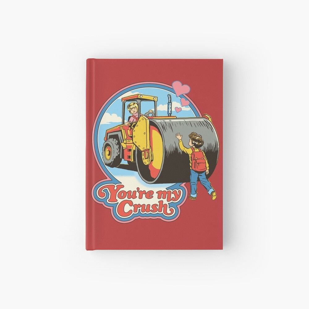 You're My Crush Hardcover Journal