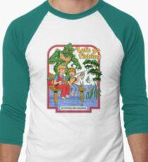 Let's Go Fishing Men's Baseball ¾ T-Shirt