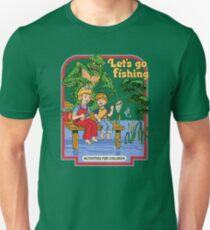 Camiseta ajustada Vamos a pescar