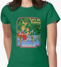 Lass uns Fischen gehen Tailliertes T-Shirt