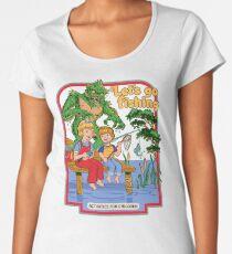Let's Go Fishing Women's Premium T-Shirt