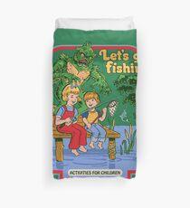 Lass uns Fischen gehen Bettbezug