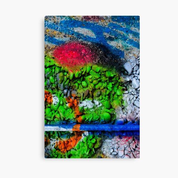 Abstract Graffiti Wall Art Photography - 1 Canvas Print