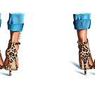 Leopard print heels by Elza Fouche