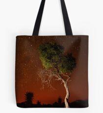 Treepainting at night Tote Bag