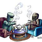 Teatime by Byron  McBride
