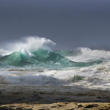 Winter Storm _ Stradbroke Island by buzzword