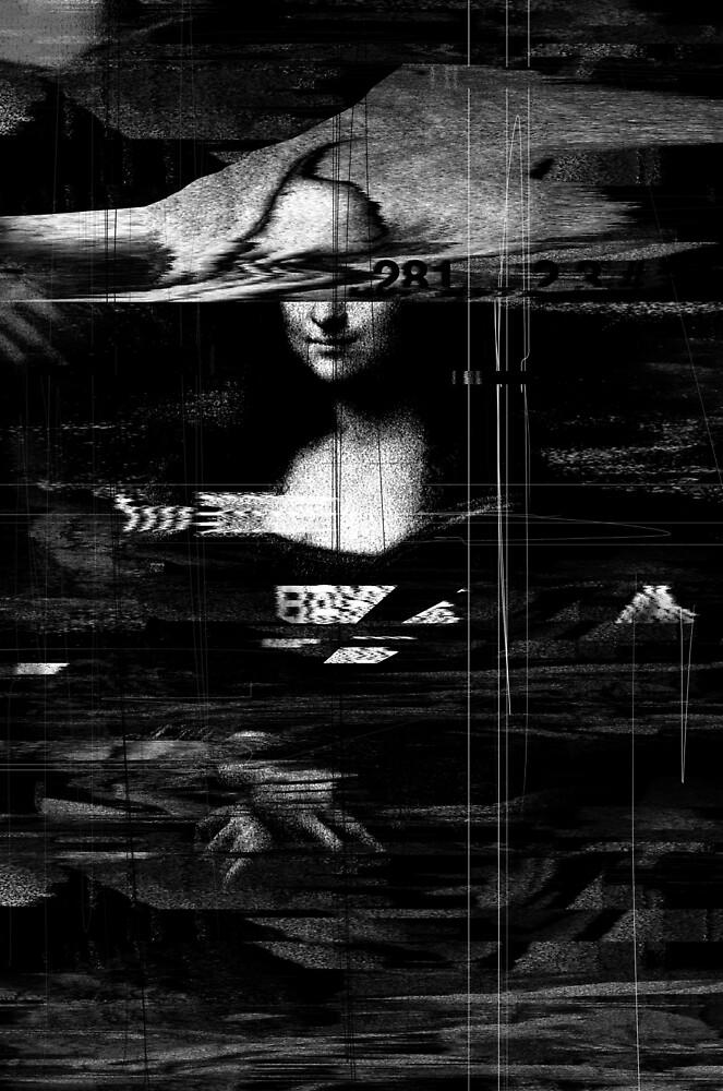 Mona Lisa Glitch by nicebleed
