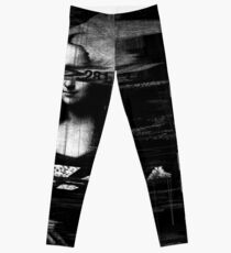 Mona Lisa Glitch Leggings