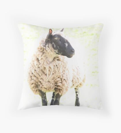 Elegant Ungulate Throw Pillow