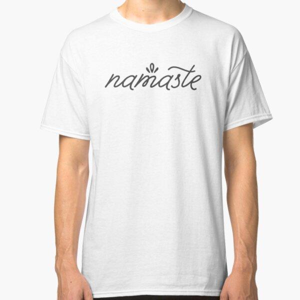 Namaste grey Classic T-Shirt