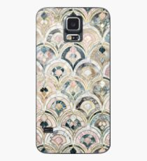 Art Deco Marble Tiles in Soft Pastels Case/Skin for Samsung Galaxy