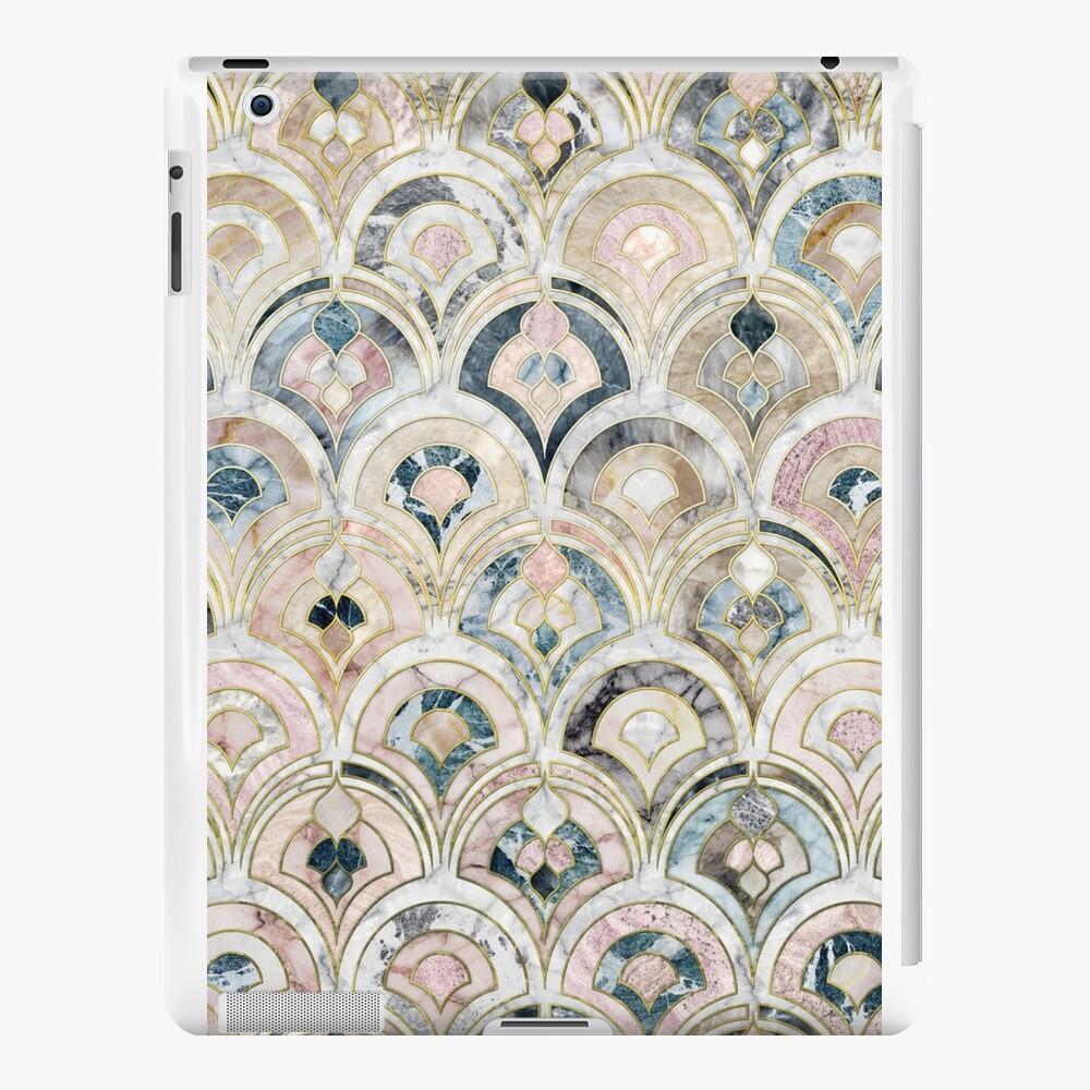 Art Deco Marmorfliesen in weichen Pastellfarben iPad-Hüllen & Klebefolien