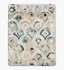 Art Deco Marble Tiles in Soft Pastels iPad Case/Skin