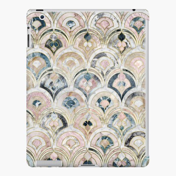 Art Deco Marble Tiles in Soft Pastels iPad Snap Case