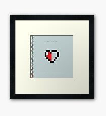 The Hero - Rupees & Heartpieces Framed Print