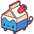 Milkbox Kitty by cronobreaker