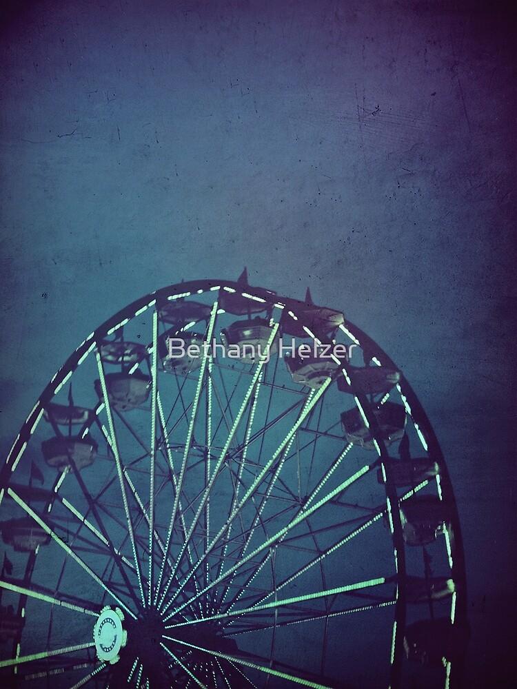 The Wheel, at Dusk by Bethany Helzer