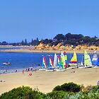 Fishos Australia Day Yacht Racing 2012 by Andy Berry