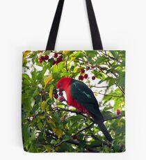 King Parrot hat einen Snack Tote Bag