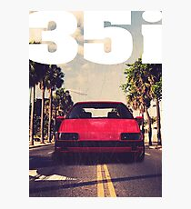 Passat B3 35i Palm Beach & quot; Photographic Print