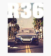 Passat B6 R36 Palm Beach & quot; Photographic Print