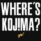 Where's Kojima? by TeeKetch