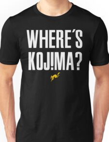 Where's Kojima? T-Shirt