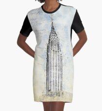 Crysler Building, New York USA Graphic T-Shirt Dress