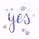Yes, simply yes by Nathalie Himmelrich