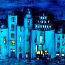 blue castle by agnès trachet