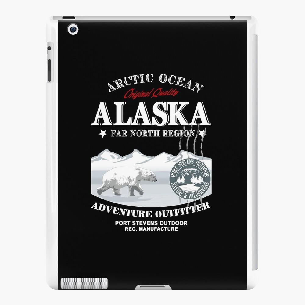 Alaska - Polar Bear - Eisbär iPad-Hüllen & Klebefolien
