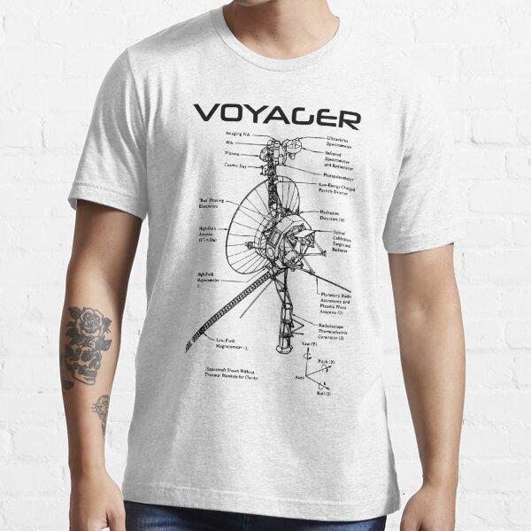 Voyager Program - Black Ink Essential T-Shirt