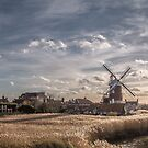 Cley next the Sea Norfolk UK  - A Bright Winters Day by Jim Key