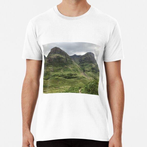 Glencoe, the Highlands , Scotland Premium T-Shirt
