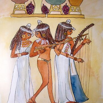 EGYPTIAN MUSICIANS  by Shoshonan