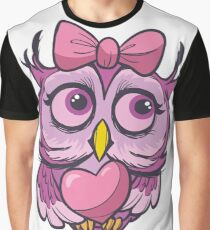 cute lovely owl Graphic T-Shirt