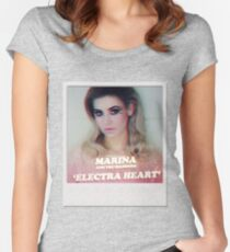 Marina And The Diamonds Polaroid Women's Fitted Scoop T-Shirt